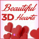 10 Beautiful 3D Hearts - GraphicRiver Item for Sale