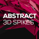 Abstract 3D Spikes - GraphicRiver Item for Sale