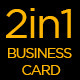 2 in One Business Card Bundle - GraphicRiver Item for Sale