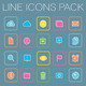 Color Line Icons - GraphicRiver Item for Sale
