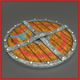 3D Viking Wooden Shield - 3DOcean Item for Sale