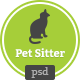 Petsitter - PSD Template - ThemeForest Item for Sale