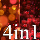 Hearts Valentine v7 (4-in-1) - VideoHive Item for Sale