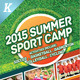 Sport or Adventure Camp Roll-up Banners - GraphicRiver Item for Sale