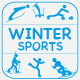 15 Icons Winter Sports  - GraphicRiver Item for Sale