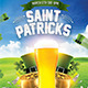 Saint Patrick's Day Flyer Template - GraphicRiver Item for Sale