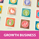 Growth Business Concept Icons - GraphicRiver Item for Sale
