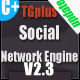 Tgplus Social Networking Engine - CodeCanyon Item for Sale