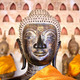 Buddha Image at Wat Si Saket in Vientiane, Laos. - PhotoDune Item for Sale