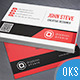 Creative Business Card v43 - GraphicRiver Item for Sale