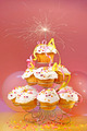 Cupcakes with sparkler on top - PhotoDune Item for Sale