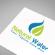 Natural Water Logo Template - GraphicRiver Item for Sale