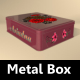 Rectangular Metal Box Mock-Up - GraphicRiver Item for Sale
