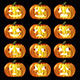 Halloween Pumpkin Icons - GraphicRiver Item for Sale