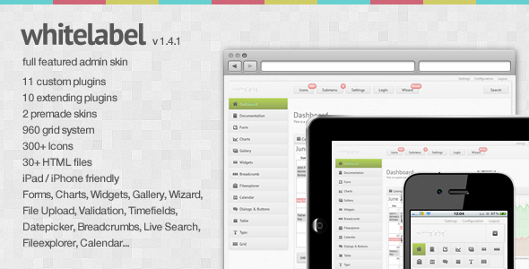 Site Templates – White Label – a full featured Admin Skin | ThemeForest