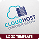 Cloud Host Logo Template - GraphicRiver Item for Sale