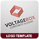 Voltage Box Logo Template - GraphicRiver Item for Sale