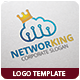 Networking Logo Template - GraphicRiver Item for Sale
