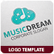 Music Dream Logo Template - GraphicRiver Item for Sale