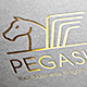 Pegasus V2 Logo - GraphicRiver Item for Sale