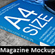 Photo Realistic Magazine Mockup - GraphicRiver Item for Sale