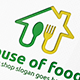 House of Food Logo - GraphicRiver Item for Sale