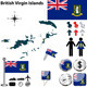 Map of British Virgin Islands - GraphicRiver Item for Sale