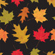 Colorful Tileable Vector Autumn Leaves - GraphicRiver Item for Sale