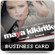 Fashion Design Business Card - GraphicRiver Item for Sale