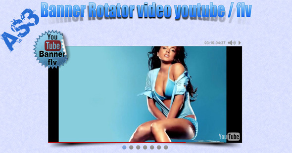 ActiveDen Video Banner YouTube Flv AS3 719644
