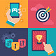 Vector Gamification Concepts - Flat App Icons - GraphicRiver Item for Sale