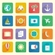 Travel Vacation Icons Set - GraphicRiver Item for Sale