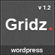 Gridz - Creative Agency Retina Ready WP Theme - ThemeForest Item for Sale