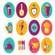 Color Flat Icon Kitchen Ware  - GraphicRiver Item for Sale