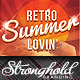 Summer Lovin' Retro Flyer Template - GraphicRiver Item for Sale