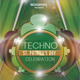 Techno St. Patrick's Day Flyer Template - GraphicRiver Item for Sale