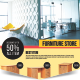 Furniture Store Flyer - GraphicRiver Item for Sale