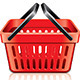 Empty Shopping Basket - GraphicRiver Item for Sale