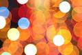 colourful christmas lights bokeh background - PhotoDune Item for Sale