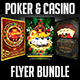 Poker and Casino Flyer Bundle - GraphicRiver Item for Sale