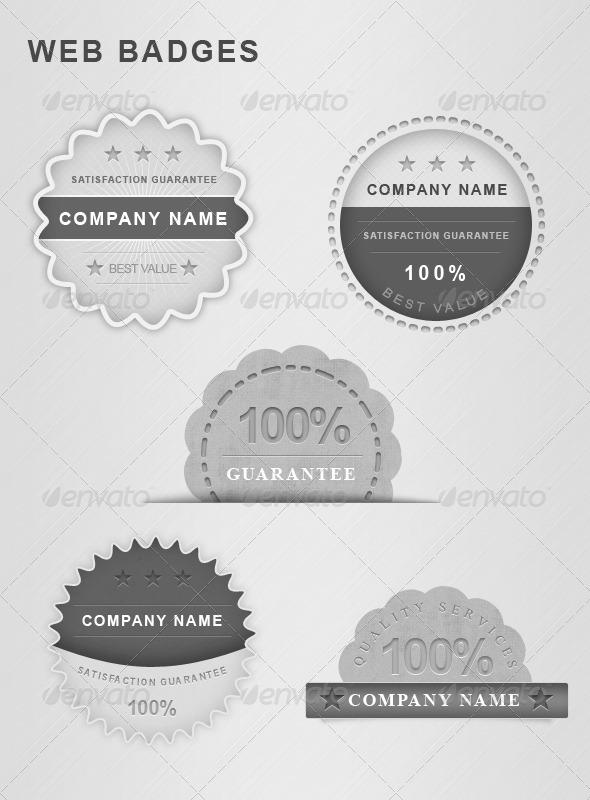 GraphicRiver Guarantee web badge 708546