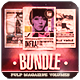Pulp Magazine Bundle - GraphicRiver Item for Sale