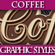Set of Original Coffee Graphic Styles for Design - GraphicRiver Item for Sale