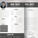 Simple CV/ Resume & Cover Letter - GraphicRiver Item for Sale