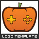 Pumpkin Games - Logo Template - GraphicRiver Item for Sale
