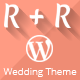 R+R Single Page Wedding Template - ThemeForest Item for Sale