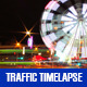 Ferris Wheel and Traffic - VideoHive Item for Sale