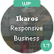 Ikaros - Responsive WordPress Business & Portfolio - ThemeForest Item for Sale