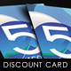 Shop Discount Card - GraphicRiver Item for Sale