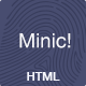 Minic! - Responsive Minimal Blog Template - ThemeForest Item for Sale